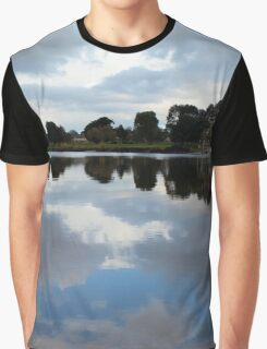 Tweed River Reflections Graphic T-Shirt