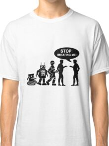 Funny robot evolution Classic T-Shirt