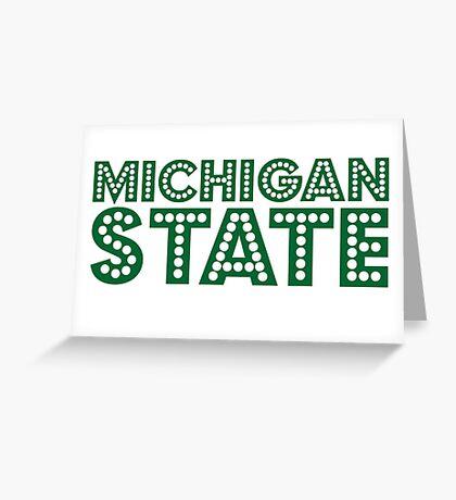 Michigan State Greeting Card