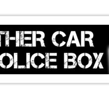 Doctor Who - Car sticker  Sticker