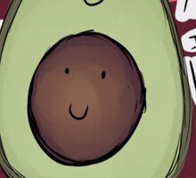 Avocado - Bite Me I'm VEGAN Sticker