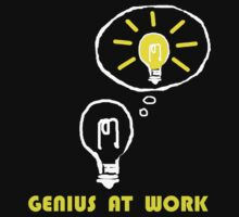 Genius at work Baby Tee