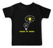Genius at work Kids Tee