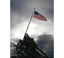 Marine Corps War Memorial Photographic Print