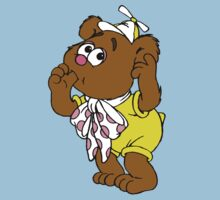 Muppet Babies - Fozzie Bear - Sucking Thumb One Piece - Short Sleeve
