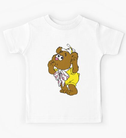 Muppet Babies - Fozzie Bear - Sucking Thumb Kids Tee