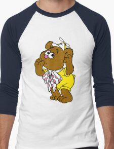 Muppet Babies - Fozzie Bear - Sucking Thumb Men's Baseball ¾ T-Shirt