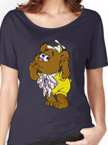 Muppet Babies - Fozzie Bear - Sucking Thumb Women's Relaxed Fit T-Shirt