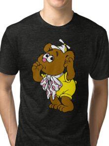 Muppet Babies - Fozzie Bear - Sucking Thumb Tri-blend T-Shirt