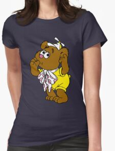 Muppet Babies - Fozzie Bear - Sucking Thumb Womens Fitted T-Shirt