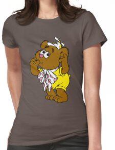 Muppet Babies - Fozzie Bear - Sucking Thumb Womens Fitted T-Shirt