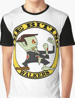 The Fighting Walkers with Logo Graphic T-Shirt