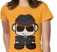 Aim High Air Force Hero'bot 2.0 Womens Fitted T-Shirt
