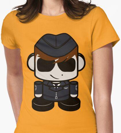 Aim High Air Force Hero'bot 2.0 Womens Fitted T-Shirt