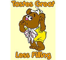 Muppet Babies - Fozzie Bear - Tastes Great - Sucking Thumb Photographic Print