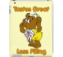 Muppet Babies - Fozzie Bear - Tastes Great - Sucking Thumb iPad Case/Skin