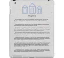 For Him Book Page iPad Case/Skin