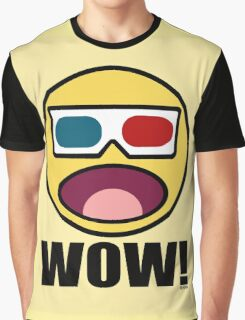 Wow! 3D Graphic T-Shirt