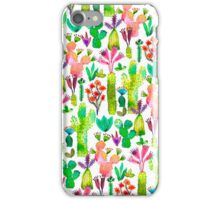 Cacti garden iPhone Case/Skin