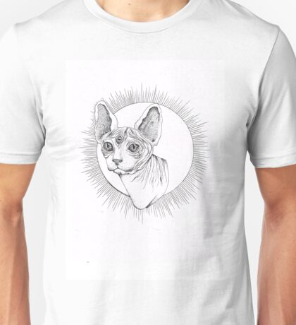 Rex Stippling Unisex T-Shirt