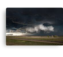 Texas Wall Cloud Canvas Print