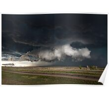 Texas Wall Cloud Poster