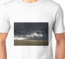 Texas Wall Cloud Unisex T-Shirt