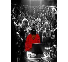 Kanye Dropping Beats Photographic Print