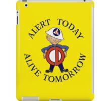 Mr Civil Defense Says... iPad Case/Skin