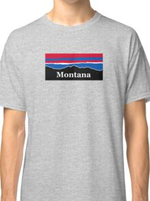 Montana Red White and Blue Classic T-Shirt