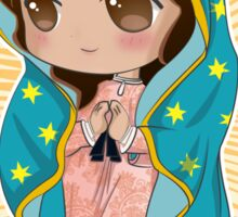 Chibi Our Lady of Guadalupe Sticker