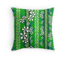 Deep 'toon jungle Throw Pillow