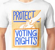 Protect Voting Rights Unisex T-Shirt