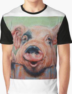 Perky Pig Graphic T-Shirt
