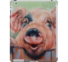 Perky Pig iPad Case/Skin