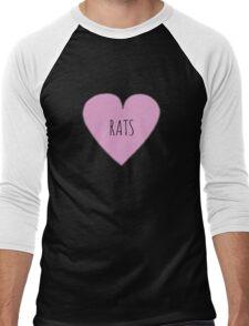 RAT LOVE Men's Baseball ¾ T-Shirt