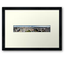 London 360 from St Paul's Cathedral - Sept 2007 Framed Print