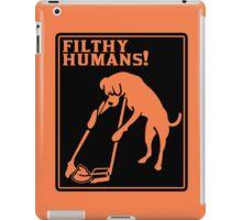 Dog Lover's funny nerd geek geeky iPad Case/Skin