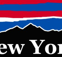 New York Red White and Blue Sticker