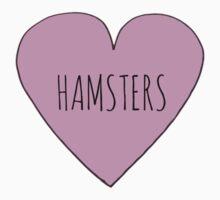Hamster Love Kids Tee