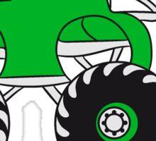 sweet cool little faster monstertruck Sticker