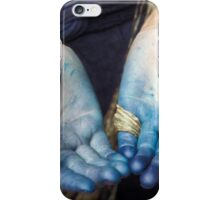 Blue Black Hmong iPhone Case/Skin