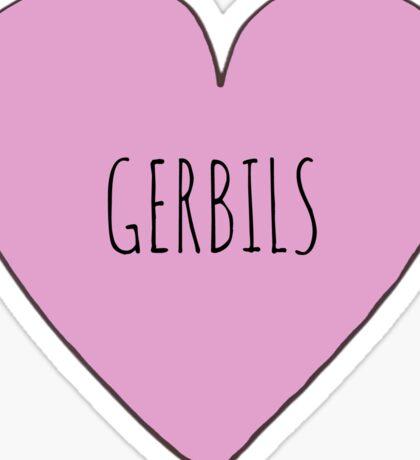 Gerbil Love Sticker