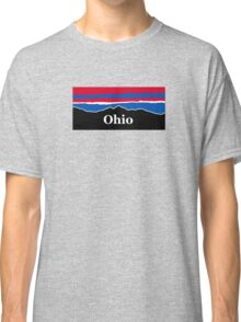 Ohio Red White and Blue Classic T-Shirt