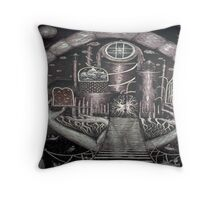 Passage to Invisible City Throw Pillow