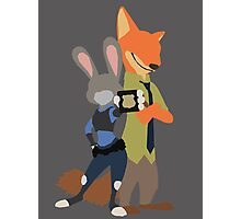 Judy and Nick Photographic Print