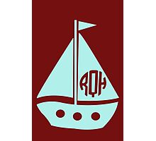 Sailboat funny nerd geek geeky Photographic Print