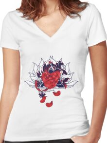 Love And Affection Women's Fitted V-Neck T-Shirt