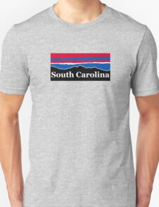 South Carolina Red White and Blue Unisex T-Shirt