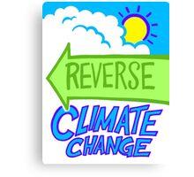 Reverse Climate Change Canvas Print